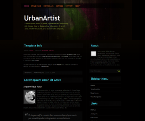 UrbanArtist Css3 Template