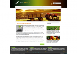 Agro World Css3 Template