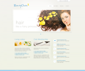 Beauty Center Css3 Template