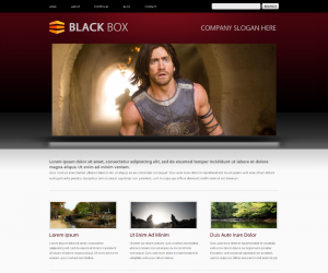 Black Box Css3 Template