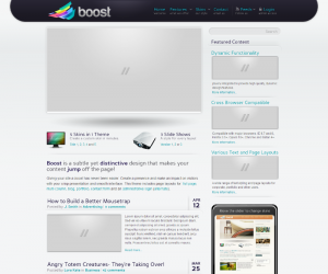 Boost Css3 Template
