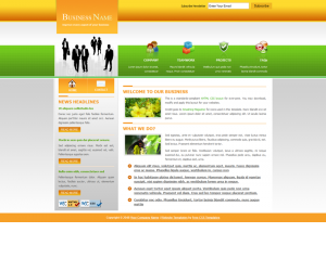 Business website jquery templates download