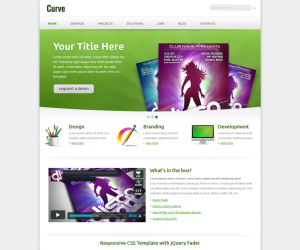 Curvee Css3 Template