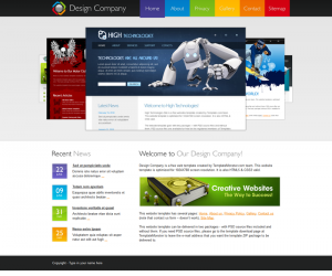 Design Company Css3 Template