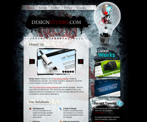 Design Studio Css3 Template