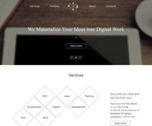 Dsng Portfolio Css3 Template