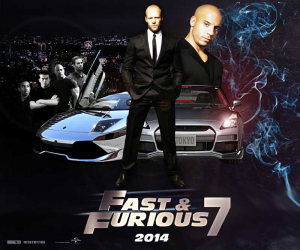 Fast And Furious 7 Css3 Template