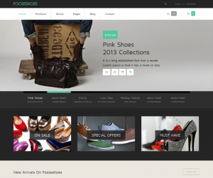 Fooseshoes  Css3Template Downloads: 330