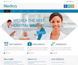 Medica Css3 Template