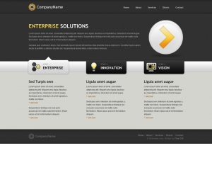 Outliers Css3 Template