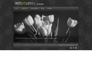 Photoartwork Reverse Css3 Template