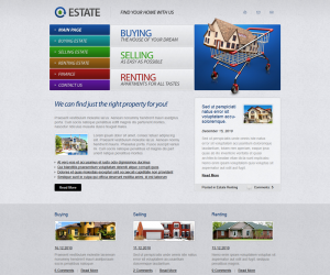 Real Estate Css3 Template