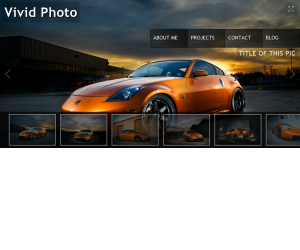 Vivid Photo 2 Css3 Template