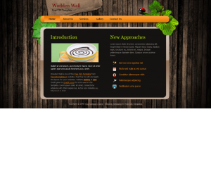 Woodenwall Css3 Template