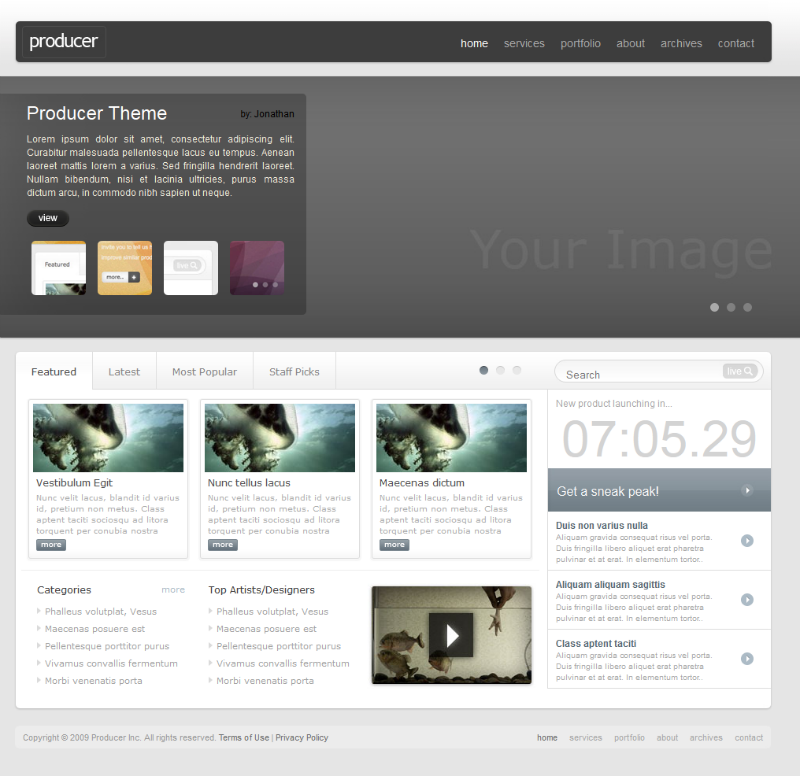 download free css templates free jquery templates freecsstemplates in